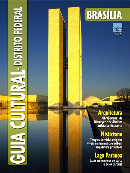 Capa do Guia Cultural n°14, Brasília