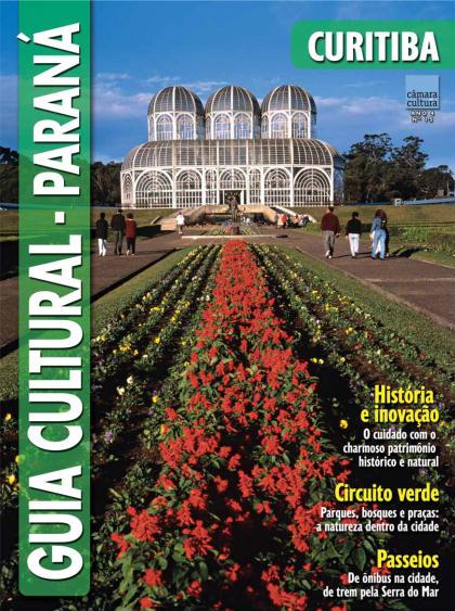 Capa do Guia Cultural n°15, Curitiba
